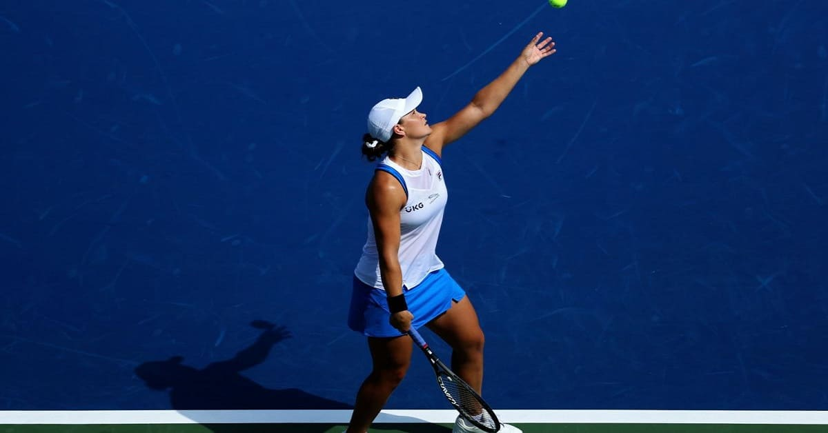 ASHLEIGH BARTY SERVES UP SECOND CINCY SEMIFINAL